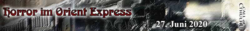 "Cthulhu ""Horror im Orient-Express"" 27062020"